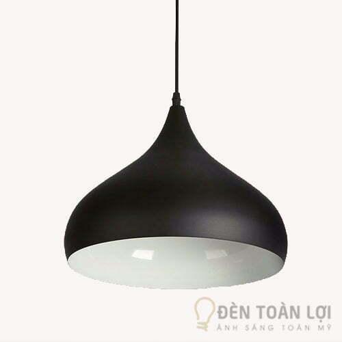 Đèn thả: Đèn trang trí quán cafe hình giọt nước Mã T3062A