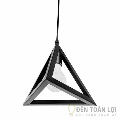 Đèn thả bóng LED lồng kim tự tháp
