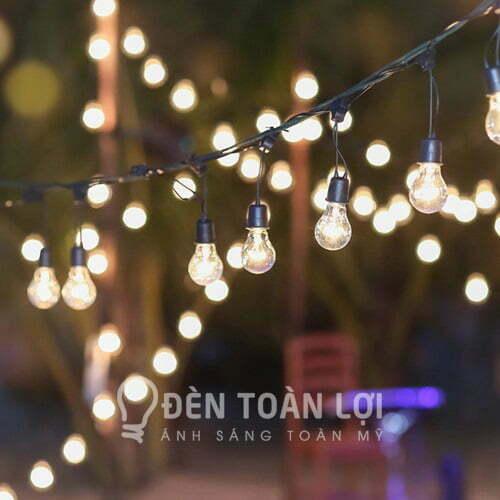 Đèn dây dây đèn trang trí ngoài trời ở TPHCM - Đèn toàn lợi