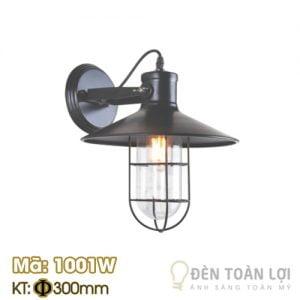 Đèn vách lồng sắt bóng Edison trang trí