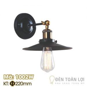 Đèn vách: Mẫu đèn vách bóng Edison trang trí Mã 1002W