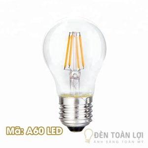 Mẫu đèn LED A60 Edison siêu sáng