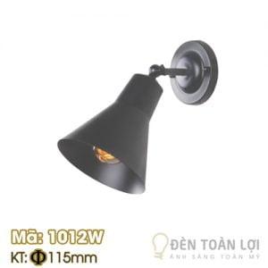 Đèn vách: Mẫu đèn vách trang trí chao như cái loa Mã 1012W