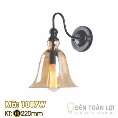 Đèn vách: Mẫu đèn vách cổ ngổng chao nhựa Mã: 1017W