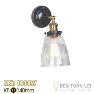 Đèn Vách: Mẫu đèn vách chóa nhựa hình cái ly Mã 1018W