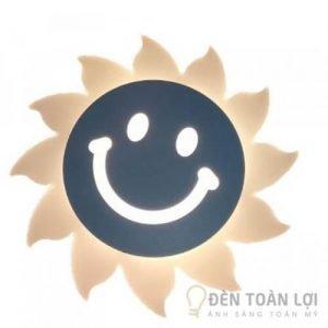 Đèn Vách Mẫu đèn tường led ông mặt trời đang cười