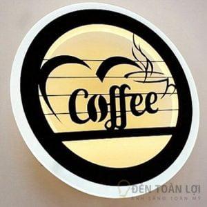 Đèn Vách Mẫu đèn tường led coffee trang trí quán cà phê