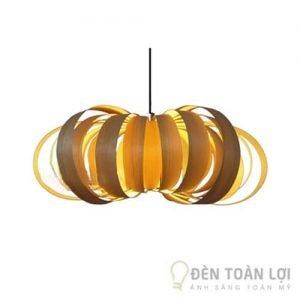 Đèn gỗ Mẫu đèn hình cánh bướm thiết kế đầy ấn tượng cho khách sạn (2)