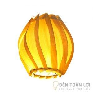 Đèn gỗ Mẫu đèn trang trí Mai an tiêm cuốn hút cho khách sạn 1