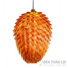 Đèn gỗ Mẫu đèn trang trí hình búp hoa tạo nét lãng mạn, nên thơ cho không gian (2)