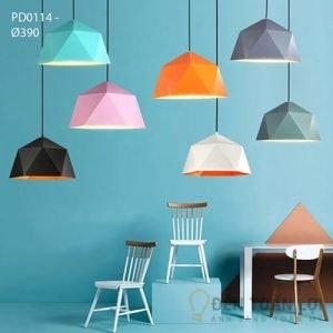Đèn thả Mẫu đèn led thả trần đa màu sắc cho nhiều không gian