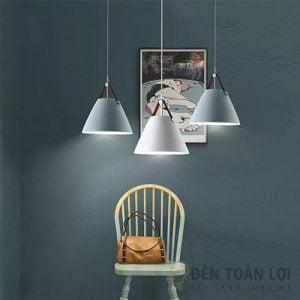 Đèn thả Mẫu đèn thả đơn giản nhẹ nhàng cho phòng ăn