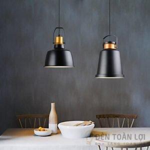 Đèn thả Mẫu đèn thả chao nhôm hiện đại trang trí nhà hàng