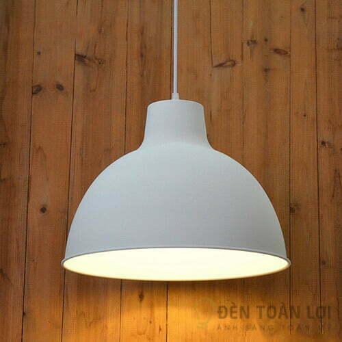Đèn thả Mẫu đèn thả chao nhôm tĩnh điện cho quán cà phê