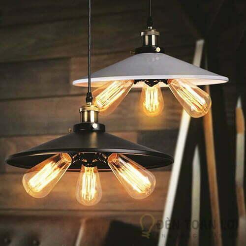 Đèn thả Mẫu đèn thả hiện đại 3 bóng led sử dụng cho quán cafe