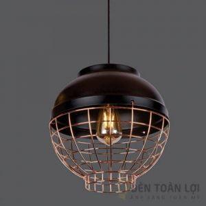 Đèn thả Mẫu đèn thả lồng sắt cho nhà hàng Food House