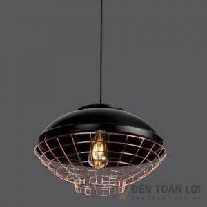 Đèn thả Mẫu đèn thả lồng sắt hiện đại cho quán trà sữa