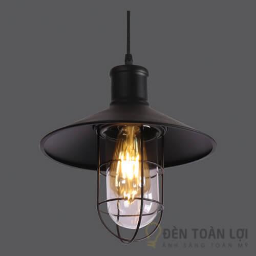 Đèn thả Mẫu đèn thả lồng sắt nhẹ nhàng cho quán cafe