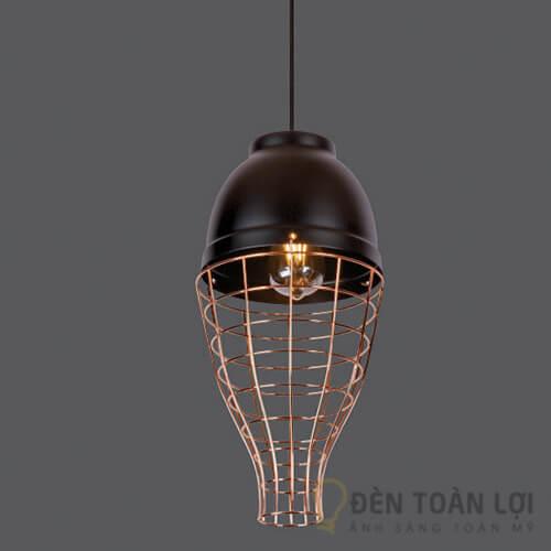 Đèn thả Mẫu đèn thả lồng sắt sang trọng cho quán cafe cheese coffee