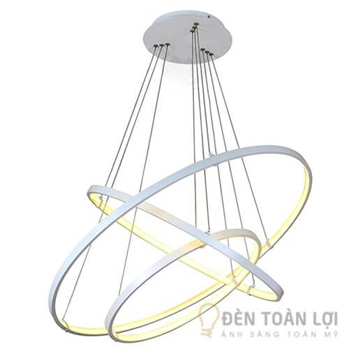 Đèn thả Mẫu đèn thả trang trí TL-001 với 3 vòng tròn đang xen 1