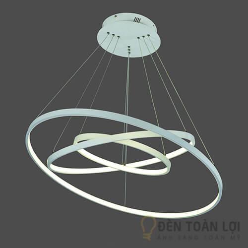 Đèn thả Mẫu đèn thả trang trí TL-001 với 3 vòng tròn đang xen