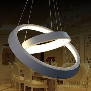 Đèn thả Mẫu đèn led 3 màu trang trí cho nhà hàng tiệc cưới