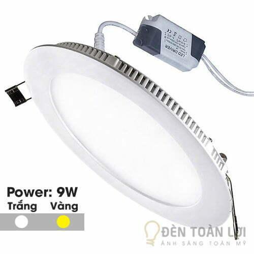 Đèn-Âm-Trần-Mẫu-đèn-led-âm-trần-siêu-mỏng-9W-tròn---Đèn-Toàn-Lợi