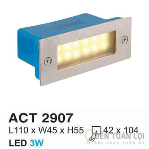 Đèn Âm Cầu Thang Hufa ACT 2907 giá rẻ và thẩm mỹ