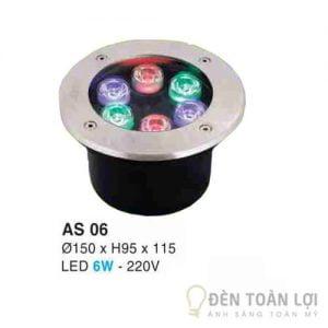 Đèn Âm Sàn Led đổi màu Hufa AS 06 6W