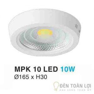 Đèn Ốp Trần Mẫu đèn downlight 10W làm từ chất liệu cao cấp