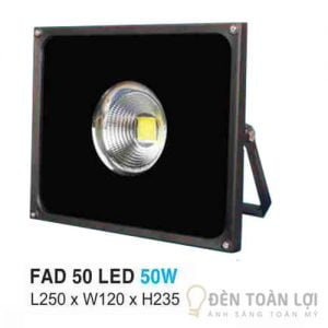 Đèn Pha FAD led Hufa 50W có độ sáng vượt trội