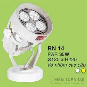 Đèn Rọi Đèn rọi siêu sáng 35W màu trắng dùng cho shop thời trang