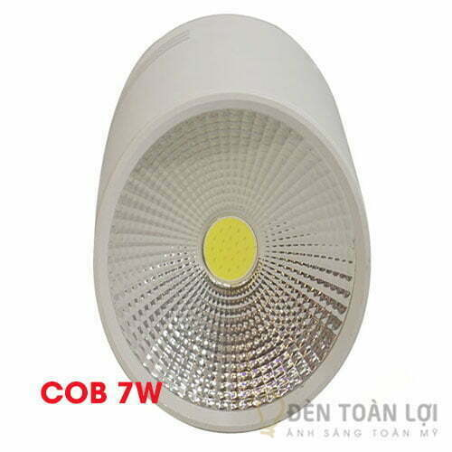 Đèn Rọi Bộ đèn rọi ống bơ chip COB 7W trang trí quán bar