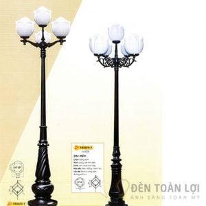 Đèn Trụ Mẫu đèn trụ đường phố thiết kế hình bông sen