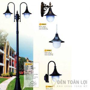 Đèn Trụ Mẫu đèn trụ cho đường phố style hiện đại