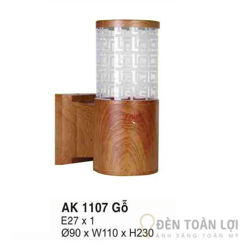 Đèn Vách Mẫu đèn ốp tường cho phòng ngủ Hufa AK 1107 gỗ
