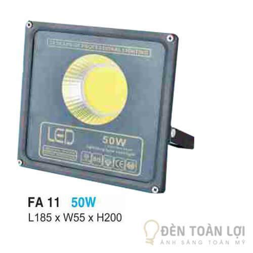 Đèn pha FA 11 led 50W ứng dụng trong sân vườn