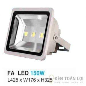Đèn pha FA led 150W có tuổi thọ vợt trội với đèn pha truyền thống