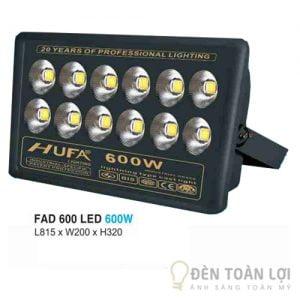 Đèn pha FAD 600 led 600W tiết kiệm điện năng
