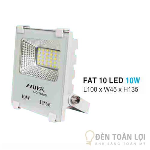 Đèn pha FAT led 10W ứng dụng trong an ninh