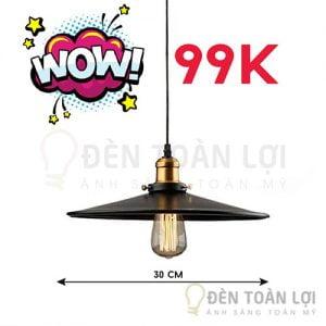 Hình ảnh chao đèn thả đĩa bay 300mm giá rẻ Đèn Toàn Lợi