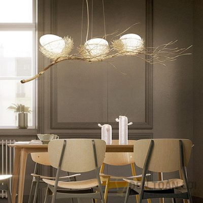Đèn thả trang trí bàn ăn hiện đại và cổ điển