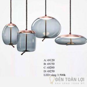 Đèn thả trang trí thủy tinh cao cấp THCN37 hiện đại (2)