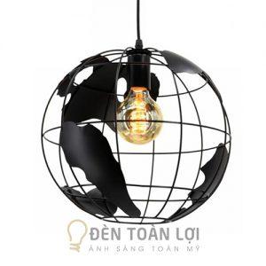 Đèn thả quả địa cầu độc đáo trang trí bàn ăn, bàn cafe