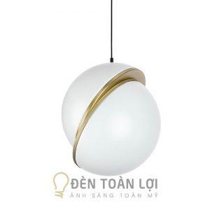 Đèn Thả: Mẫu đèn thả hiện đại hình 2 nửa cầu trang trí phòng khách cực đẹp THCN 27