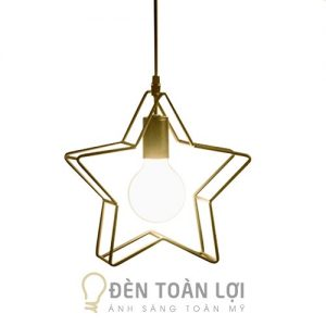 Đèn thả ngôi sao khung sắt trang trí giá rẻ ở TPHCM