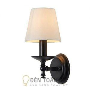 Đèn Vách: Mẫu đèn vách trang trí phòng ngủ có chụp vải